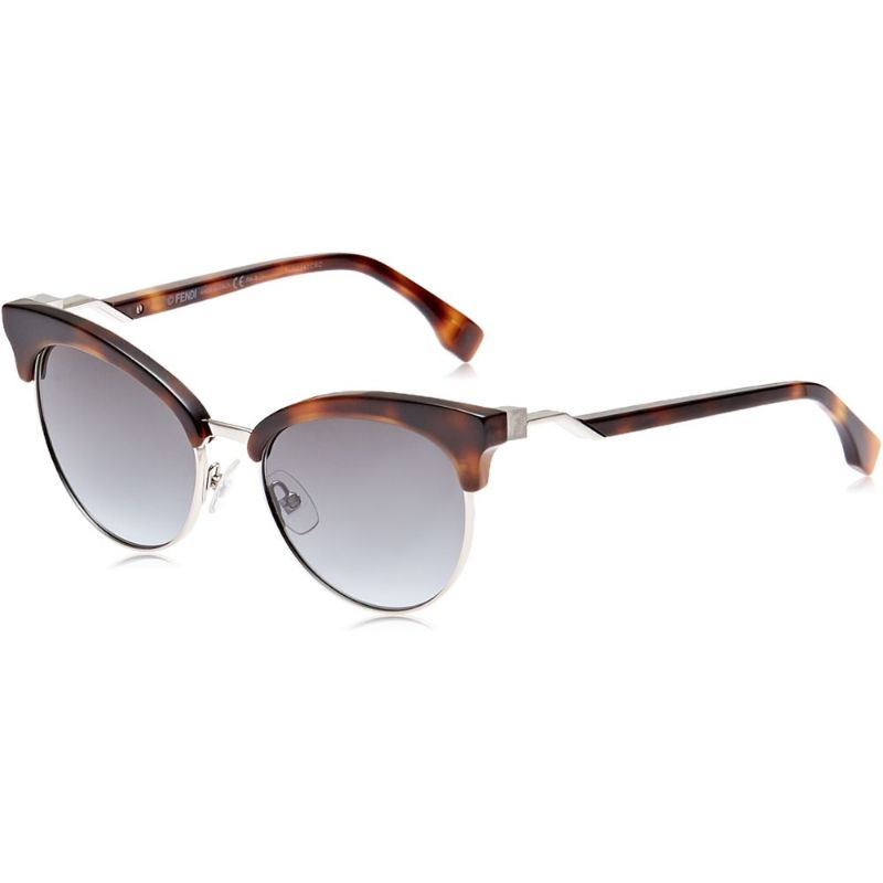 Fendi FF 0229/S Dark Havana 0086 Sunglasses-Daily Steals