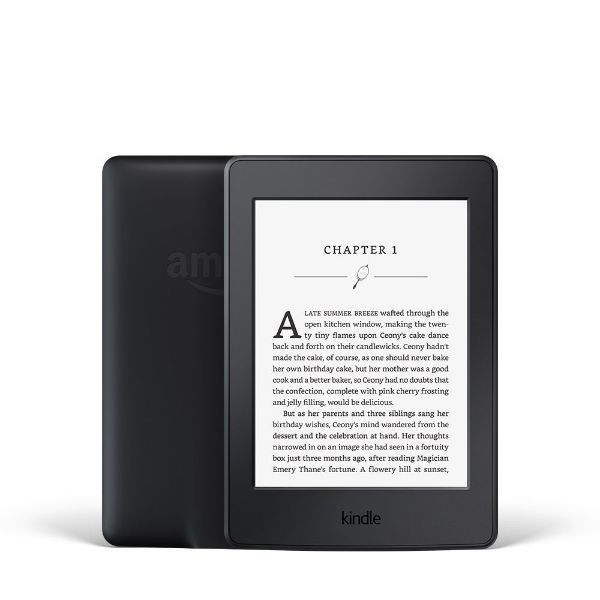 "Kindle Paperwhite E-reader 7th Generation - Black, 6"" with Built-in Light - Includes Special Offers-Daily Steals"