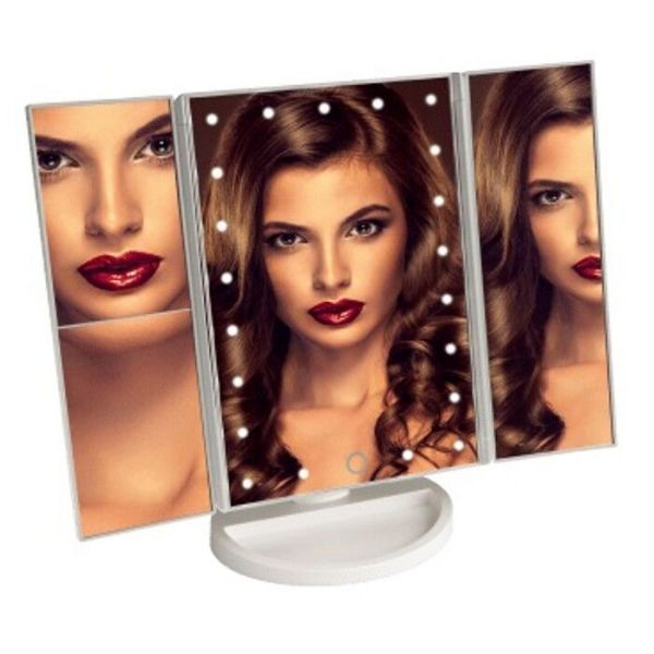 Vivitar Simply Beautiful 24 LED Light Up Trifold Mirror-Daily Steals