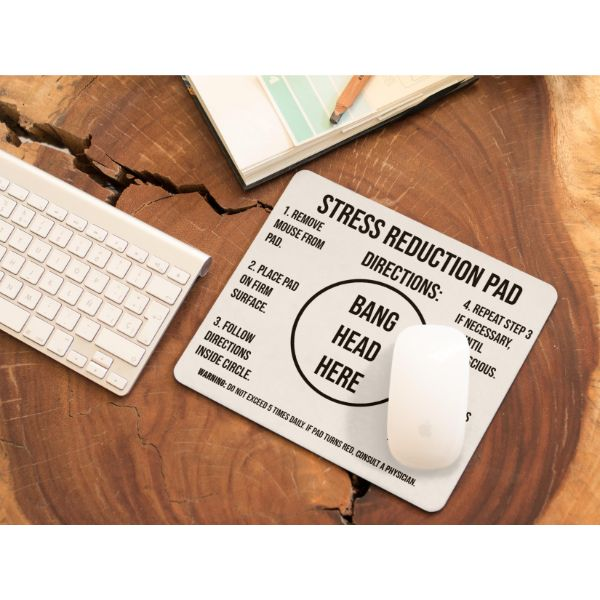 Stress Reduction Non-Slip Rubber Mousepad-Daily Steals