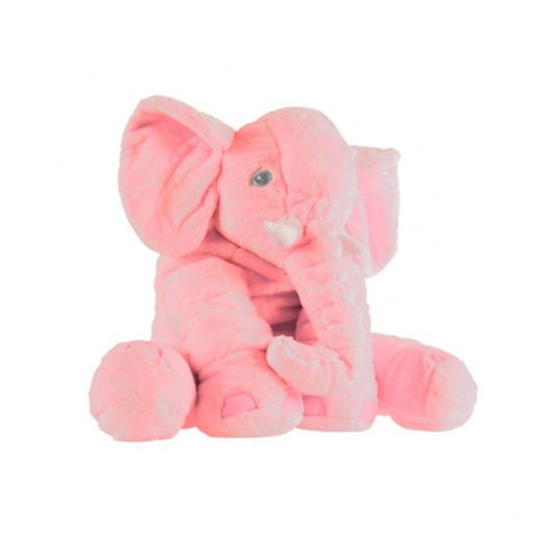 Plush Stuffed Elephant Soft Cuddle Pillow - 2 Colors-Pink-Daily Steals