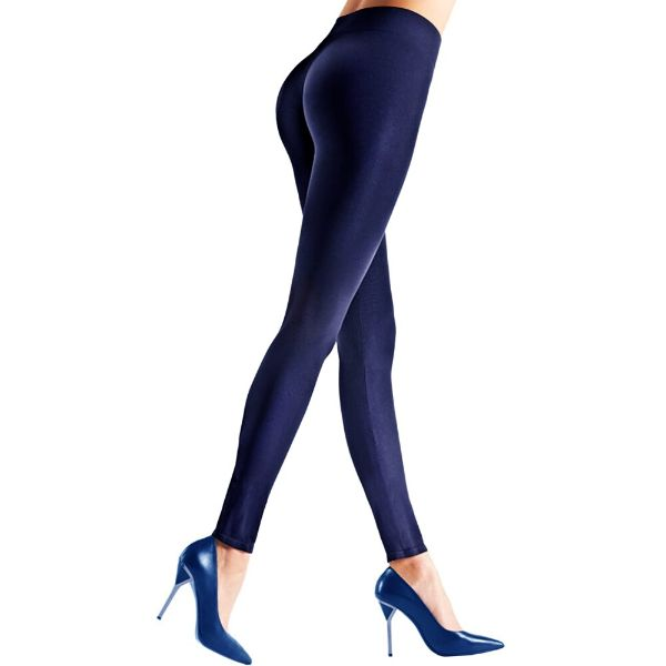Womens Seamless Body Shaper Premium Stretch Leggings-NAVY-L/XL-Daily Steals