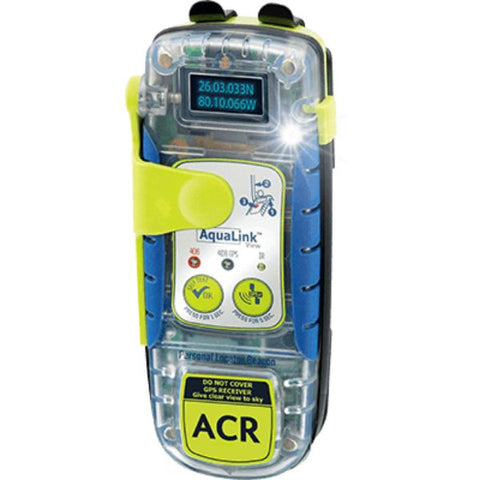 Daily Steals-PLB, AqualinkView, GPS/Strobe/Disp./32hr By ACR-Marine-