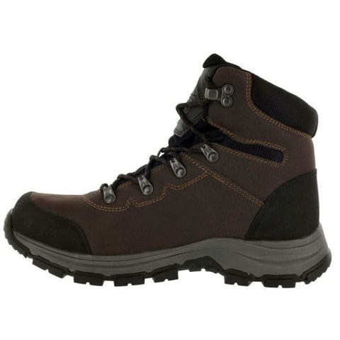 "Magnum 6"" Austin Mid Waterproof Steel Toe Work Boots - Coffee"