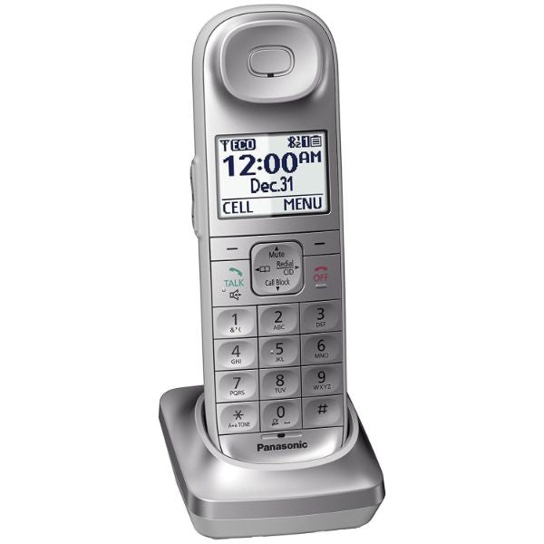 update alt-text with template Daily Steals-Panasonic Link2Cell Expandable Bluetooth Cordless Phone System-Home and Office Essentials-