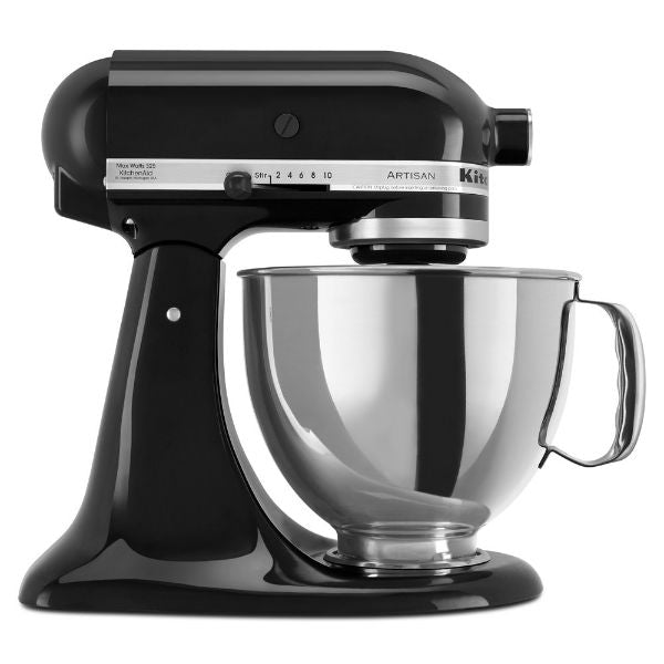 KitchenAid Artisan Series 5-Qt. Stand Mixer with Pouring Shield - 6 Colors-Onyx Black-Daily Steals