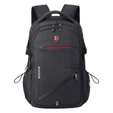 Laptop Travel Backpack, Built in USB Port, Water Repellent, Commuter, College School All Purpose Backpack for ICON 25