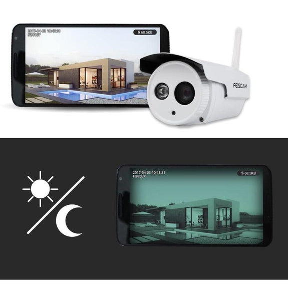 Foscam HD 720P Outdoor WiFi Security Camera Night Vision up to 65ft, & More-Daily Steals