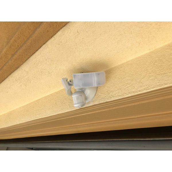 Daily Steals-Home Zone Security Motion Sensor Flood Light - Mark 3 Wide LED Light Heads - 3 Pack-Outdoors and Tactical-
