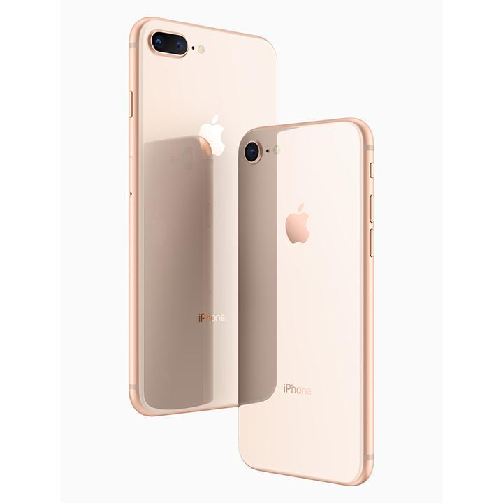 Apple iPhone 8/8 Plus (GSM Unlocked) with MFi-Certified Lightning Cable and Generic Power Adapter-Gold-iPhone 8 Plus-256GB-Daily Steals