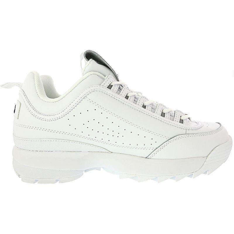 Fila Men's Disruptor Ii Preium Ankle-High Leather Fashion Sneakers-
