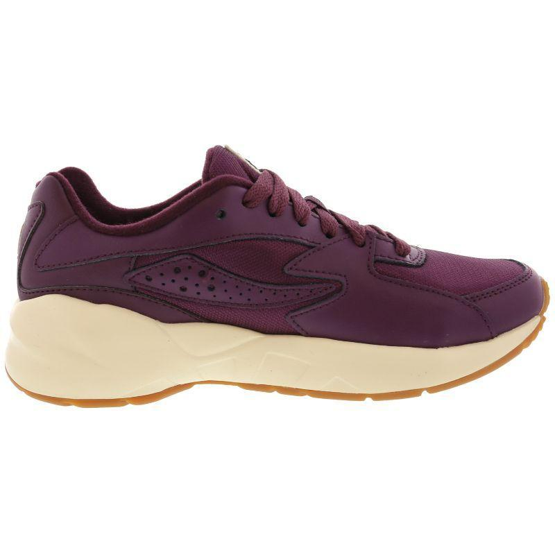 Fila Women's Mindblower Potent Purple Ankle-High Leather Sneaker-6.5-