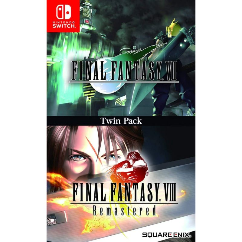 Final Fantasy VII & VIII Remastered Game for Nintendo Switch - Region Free-Daily Steals