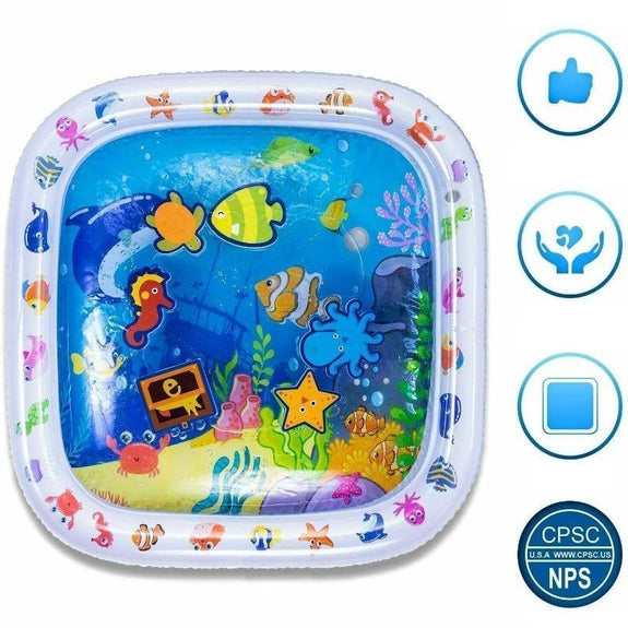 Finest Premium Tummy Time Water Playmat-