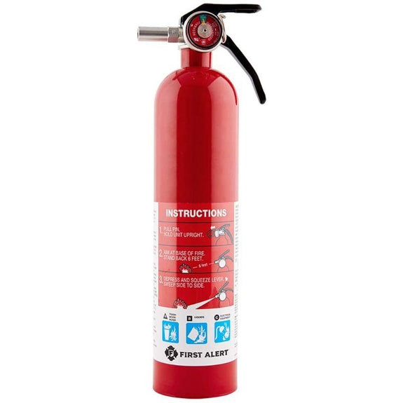 First Alert Standard Home Fire Extinguisher - 4 Pack-