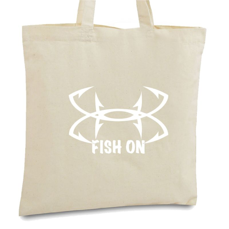 Statement Tote Bags-Fish On-Daily Steals