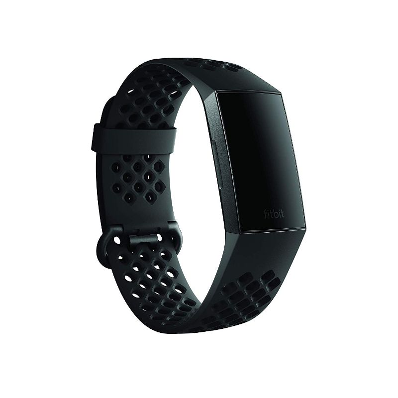 Fitbit Charge 3 Accessory Black Sport Band-Daily Steals