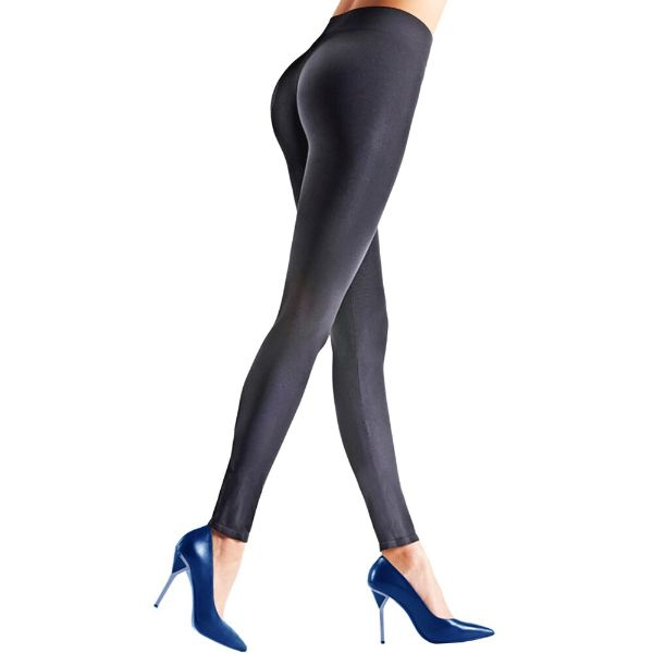 Womens Seamless Body Shaper Premium Stretch Leggings-CHARCOAL-L/XL-Daily Steals