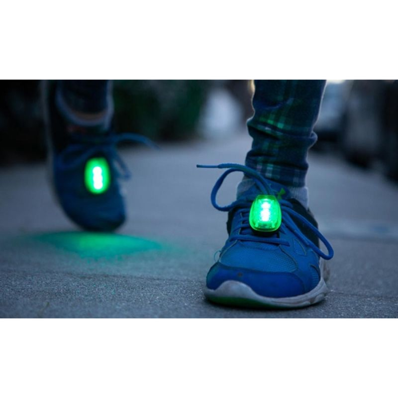 Running and Bicycle Safety Light With Clip, Weather Resistant - 2 Pack-Daily Steals