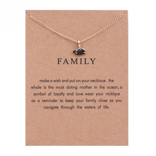 Sentiment Necklaces with Card - 8 Styles-Daily Steals