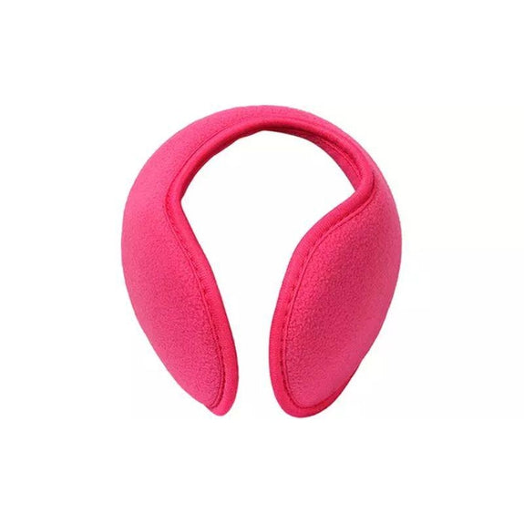 Foldable Behind The Head Ear Warmers - 4 Pack-Pink-