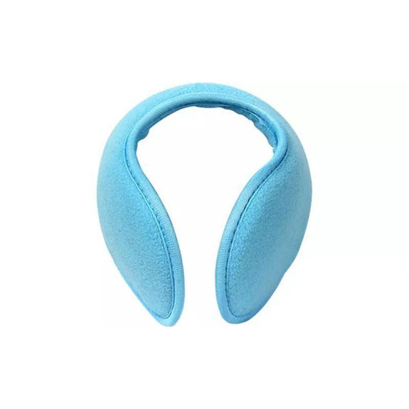 Foldable Behind The Head Ear Warmers - 4 Pack-Blue-