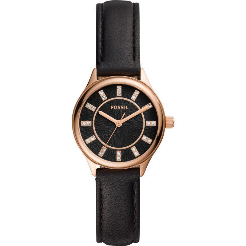 Fossil Modern Sophisticate Black 30mm Ladies Watch - BQ3442-