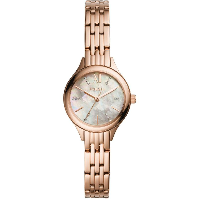 Fossil Suitor Mini Rose Gold 26mm Ladies Watch - BQ3333-