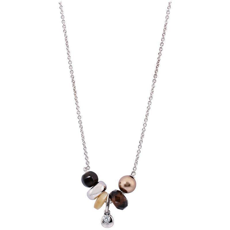 "Fossil Trendy Multi-Color Neutrals Necklaces - 16"" or 19""-16 inches-"