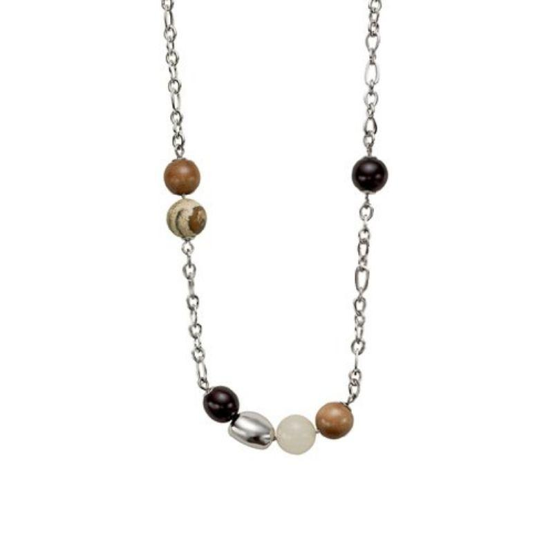 "Fossil Trendy Multi-Color Neutrals Necklaces - 16"" or 19""-19 inches-"