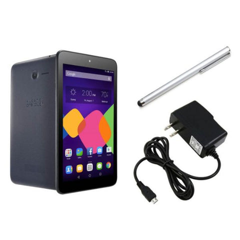 Daily Steals-Alcatel OneTouch Pixi 7 8GB Black Wi-Fi Tablet with Stylus and Charger-Tablets-