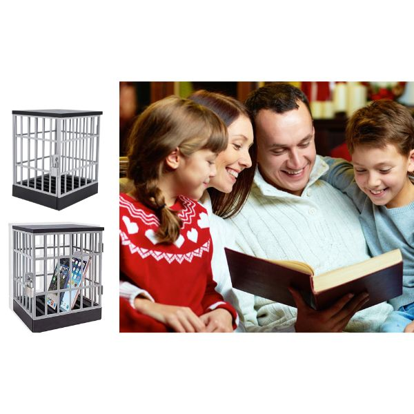 Phone Jail Cell with Pad Lock and Keys-Daily Steals