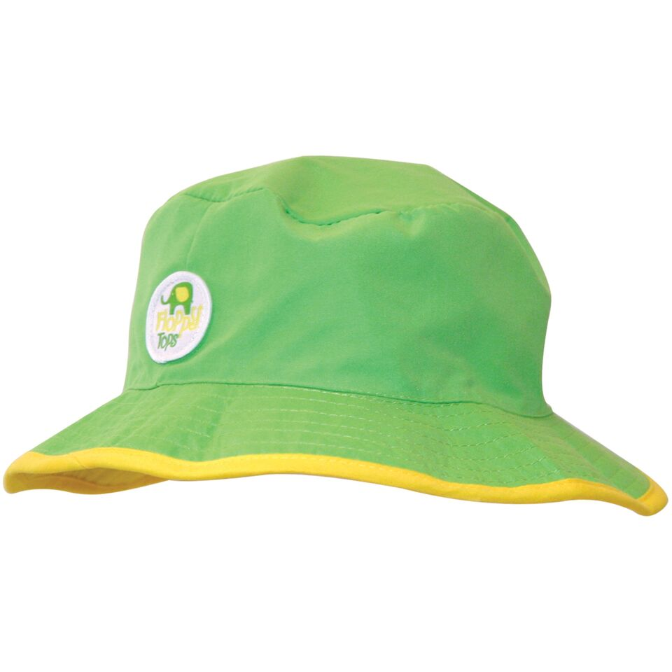 Kids Floppy Tops Water-Resistant, UV-Protective Hats-Green-Daily Steals