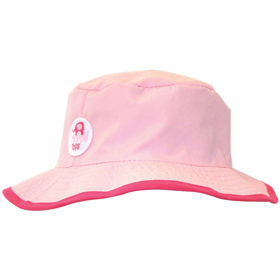 Kids Floppy Tops Water-Resistant, UV-Protective Hats-Pink-Daily Steals