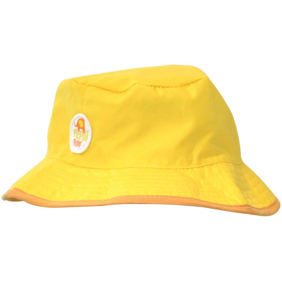 Kids Floppy Tops Water-Resistant, UV-Protective Hats-Yellow-Daily Steals
