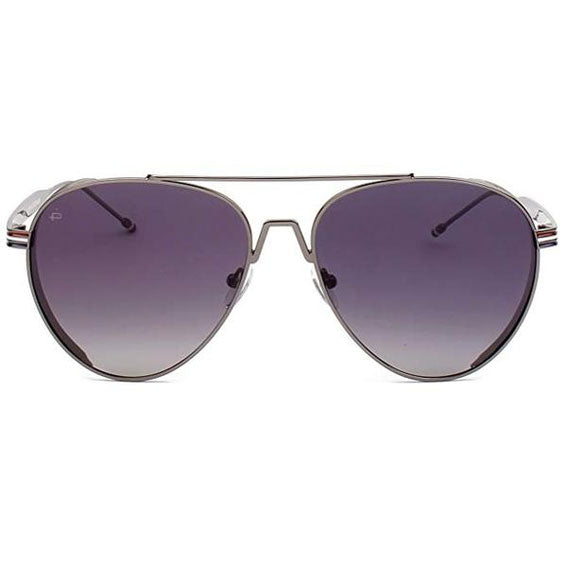 "PRIVÉ REVAUX ICON Collection ""The G.O.A.T"" Designer Polarized Aviator Sunglasses-Grey-Daily Steals"
