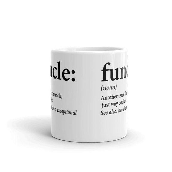 """Funcle Funny Uncle"" Coffee Mug - 11 Oz-Daily Steals"