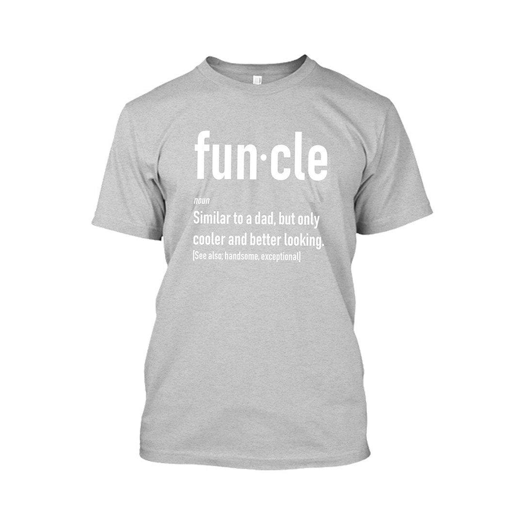 update alt-text with template Daily Steals-Funcle Fun Uncle Tshirt-Men's Apparel-Sports Gray-2XL-