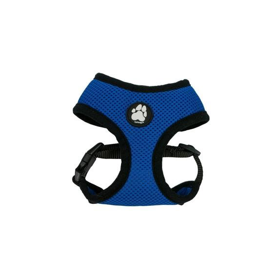 Daily Steals-Furhaven Mesh Dog Harness with Comfort Padding Trim-Pets-True Blue-Small-