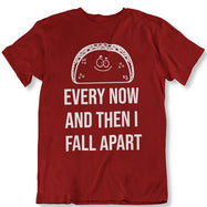 Taco Eclipse of The Heart, de temps en temps je m'effondre T-Shirt-Maroon-M-Daily Steals