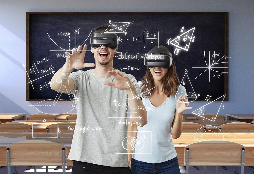 Lenovo Explorer Mixed Reality, Headset, Motion Controllers, Iron Grey-Daily Steals