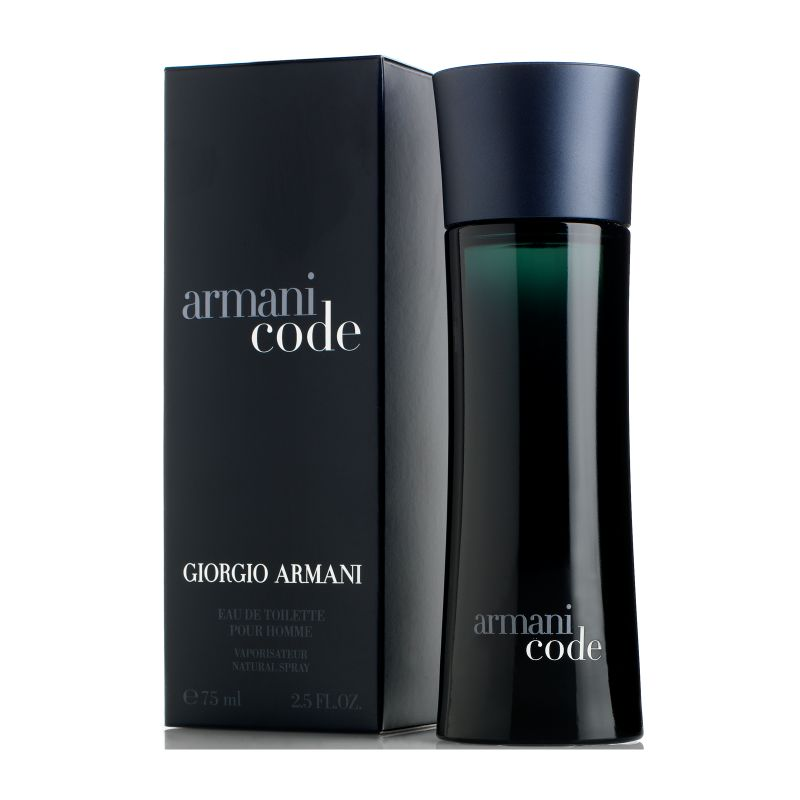 Giorgio Armani - Armani-kode Eau De Toilette for mænd - 2,5 oz-Daily Steals