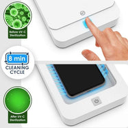 Galvanox UV Phone Sanitizer Portable UV-C Light Sterilizer UV Sanitizer Box-
