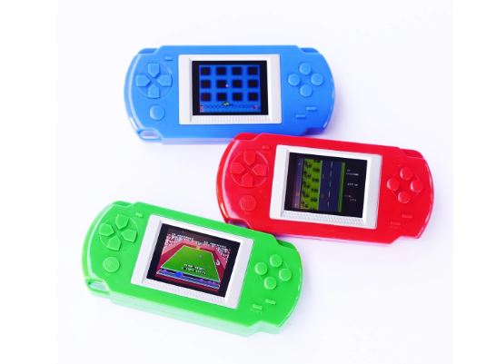 Daily Steals-Handheld Gaming System - 268 Games-Hobby and Toys-Blue-