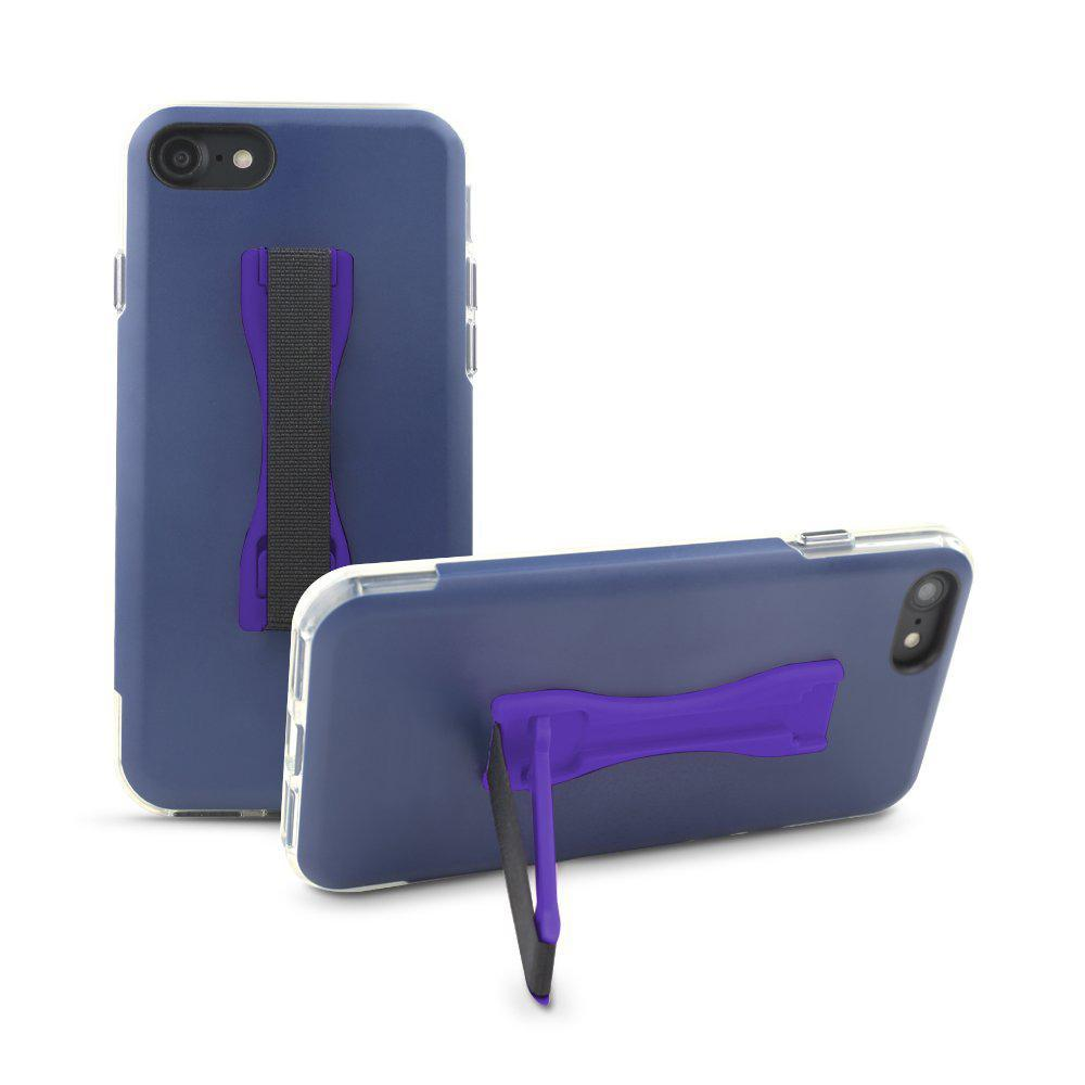 Gear Beast Cell Phone Grip Stand Finger Holder - 2 Pack-Purple-Daily Steals