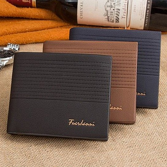 Fuerdanni Men's Leather Wallet-Daily Steals