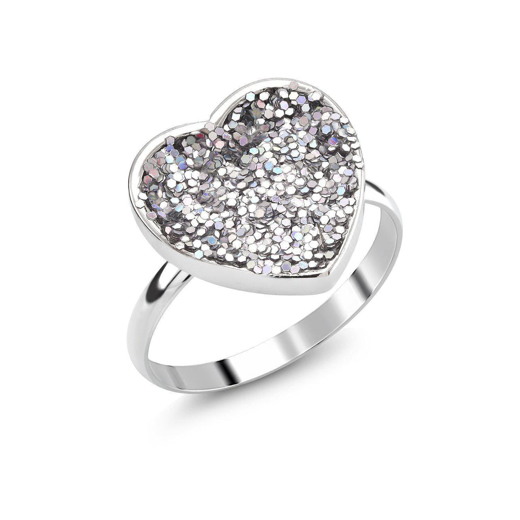Daily Steals-äkta Druzy Crystals Comfort Fit Ring-Jewelry-6-Heart-