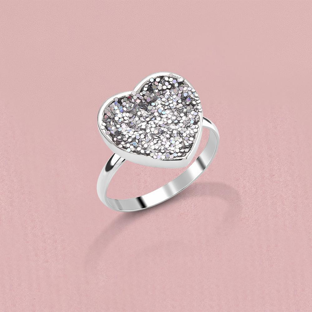 Daily Steals-äkta Druzy Crystals Comfort Fit Ring-smycken-6-Round-