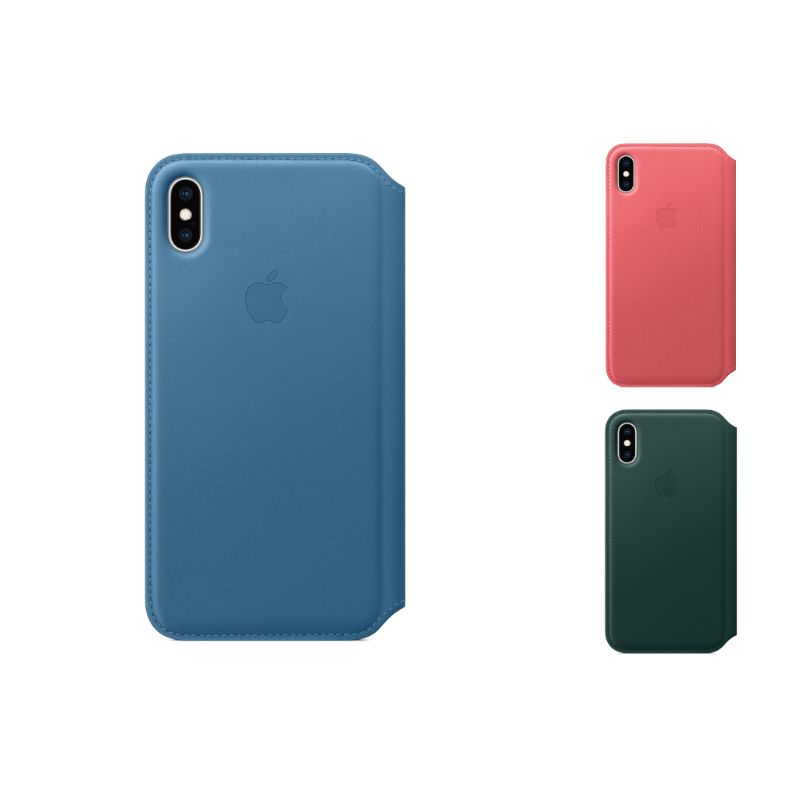 Genuine Apple Leather Folio Case for iPhone XS / XS Max-Daily Steals