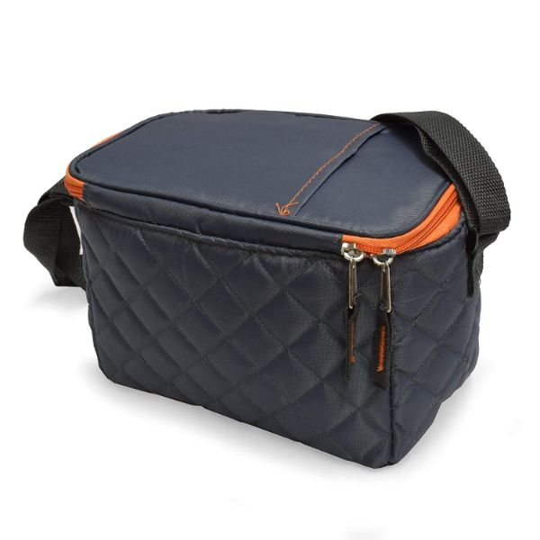 POLAR PACK Quilted 6 Can Cooler-Daily Steals